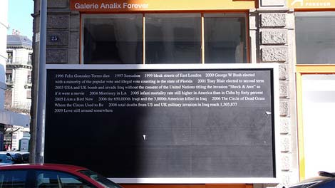 Galerie Analix Forever