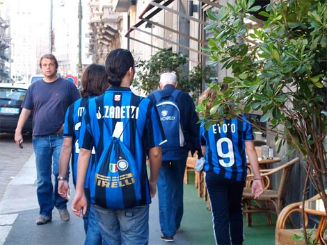 Inter shirts emerging