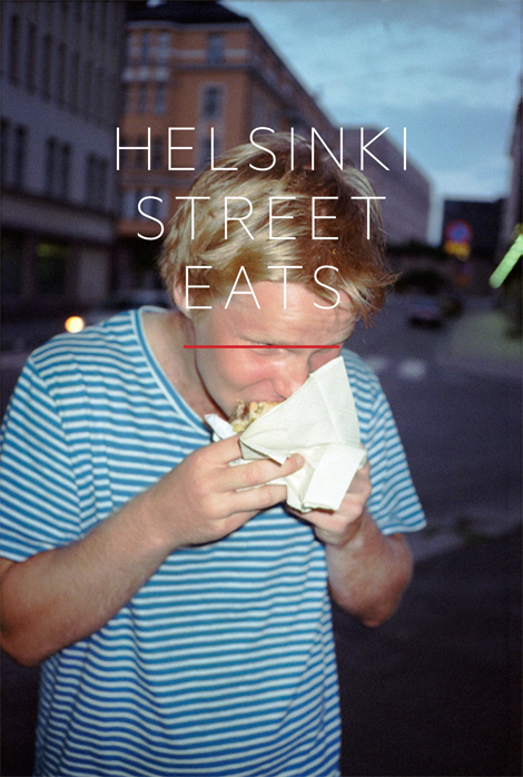 Early version of Helsinki Street Eats cover