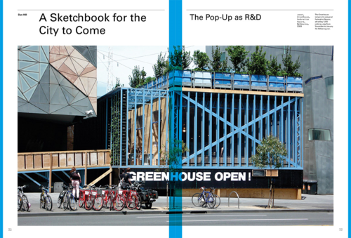 Essay: 'A sketchbook for the city to come: the popup as R&D', for AD 'Popups and Parasols'