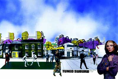 Tuned Suburb, Archigram, 1968