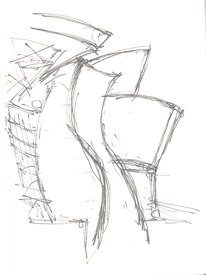 Cityofsound: Sketches Of Gehry's Guggenheim