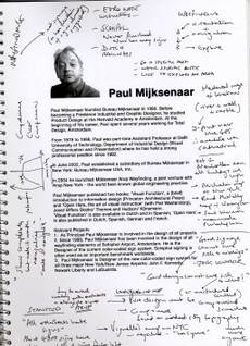My notes on Paul Mijksenaar talk 1