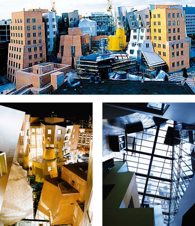 MIT's new Stata building, by Frank Gehry