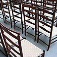 1959 Chapel, chairs close