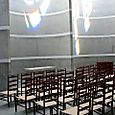 1959 Chapel, light, chairs