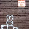 Rabbit graff