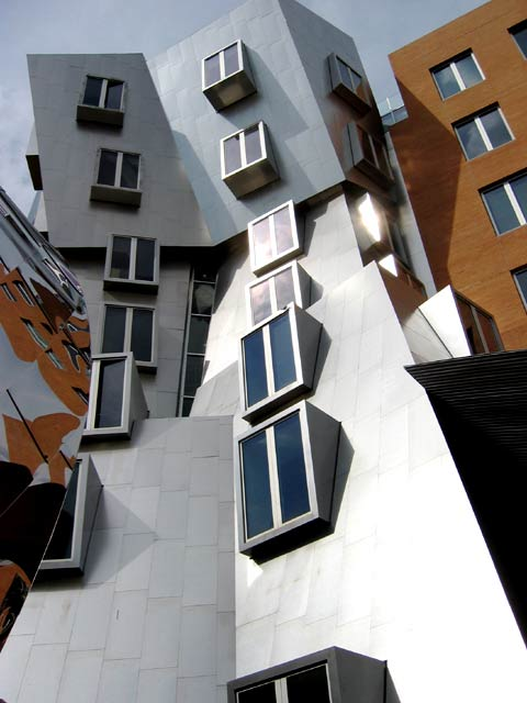 Stata, cascading tower, windows