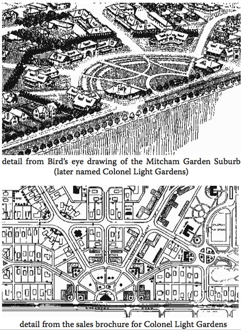 Colonel Light Gardens drawings