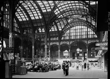 Penn Station before
