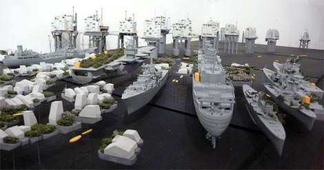 Bartlett ship model