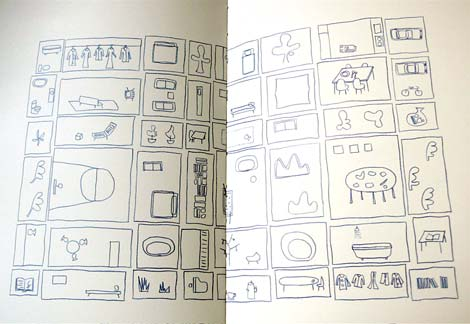 House in China: Diagrammatic plan, all spaces can be specifically programmed