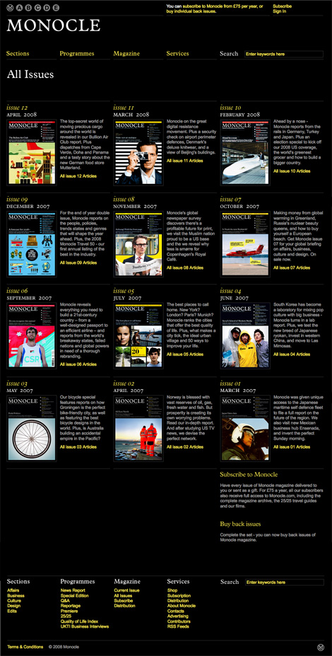 Monocle_all_issues