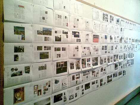 Monocle's layout wall