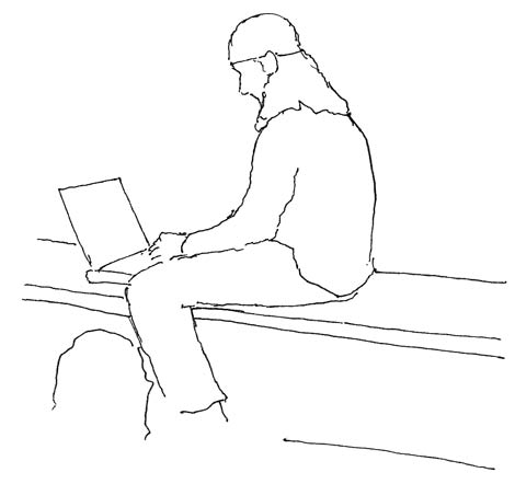 Sitting_astride_bench