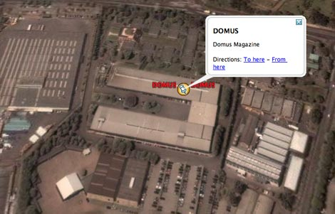 Domus in Google Earth