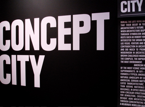 Concept City display