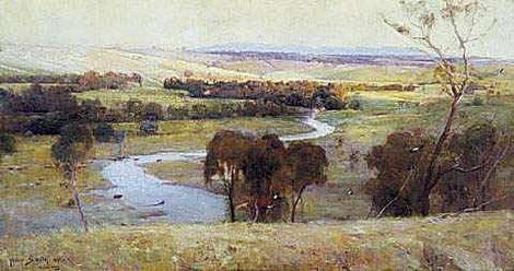 Still Glides The Stream by Arthur Streeton