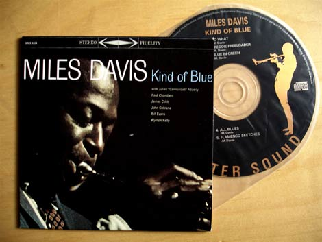 Replica CD of Kind Of Blue