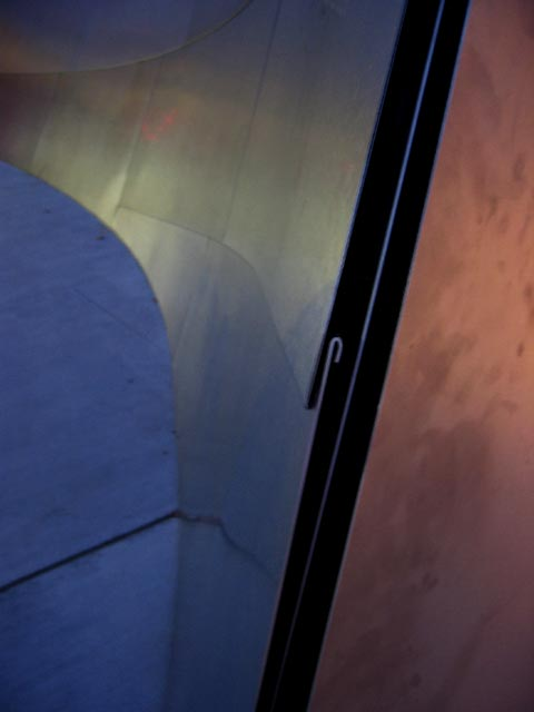 Close-up of skin, Walt Disney Concert Hall, LA